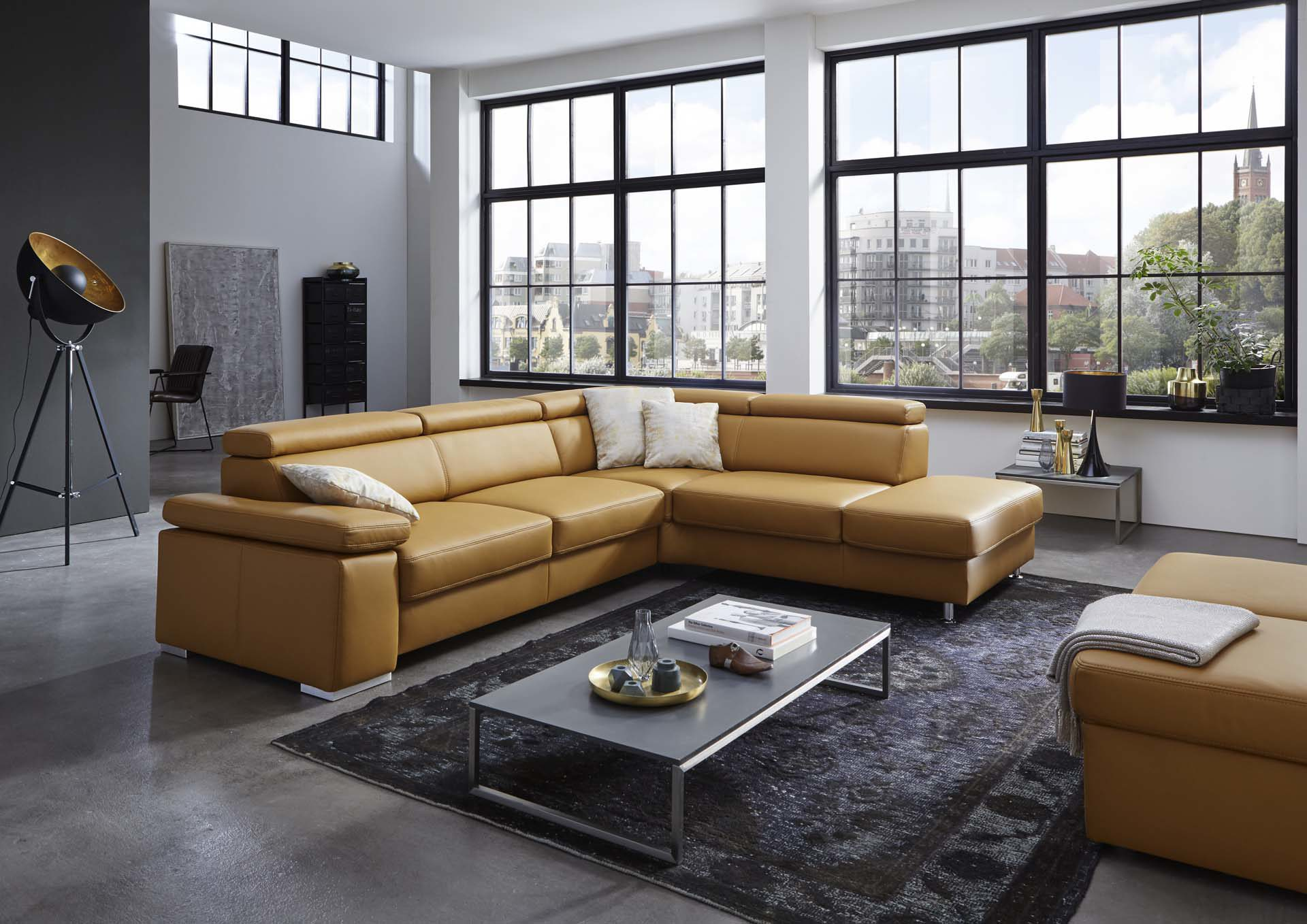 Amazing Affordable Beautiful Mbel Boer Coesfeld Rume Wohnzimmer Sofas  Couches Modulmaster Cancun L Gnstiger In Gelb Leder Vivre U Alufe With  Modul Sofa ...