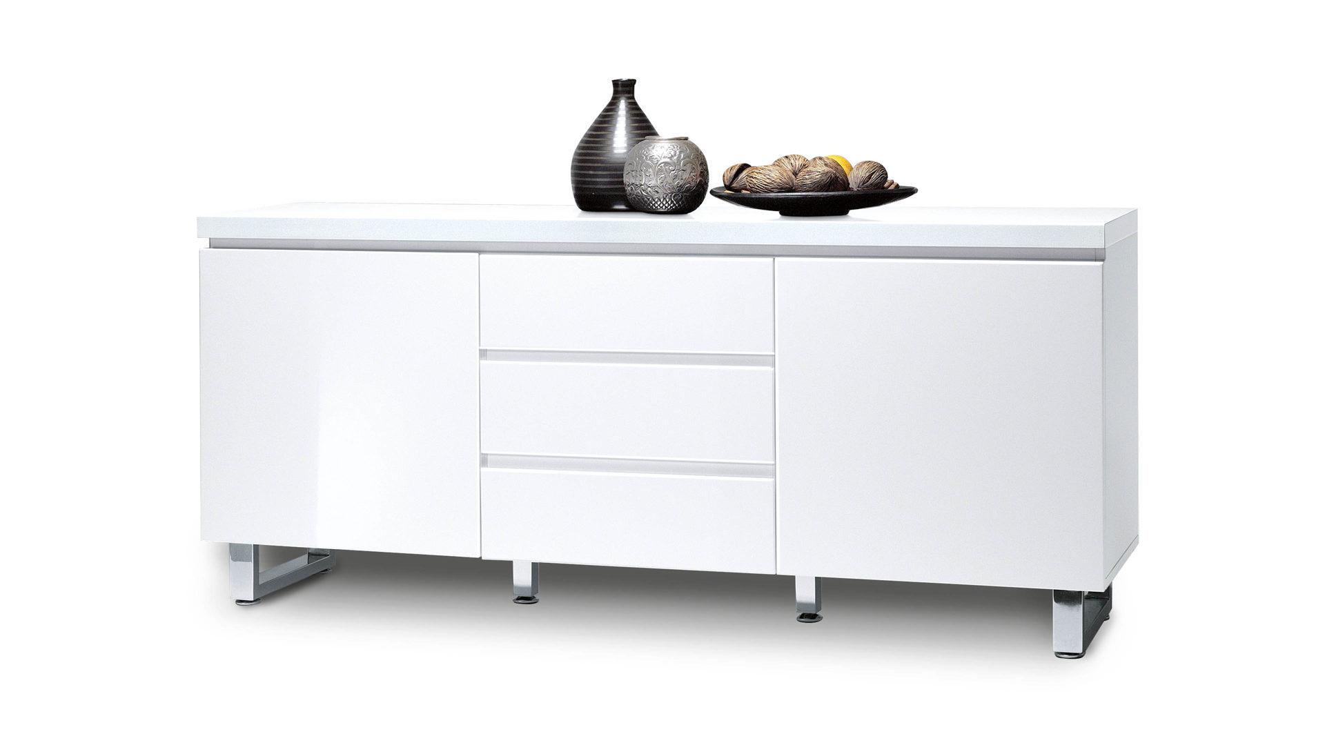 Möbel Boer Coesfeld, Räume, Schlafzimmer, Kommoden + Sideboards, Sideboard,  Sideboard, Eine Kommode Mit Eleganter Note, Weiße Kunststoff  ...