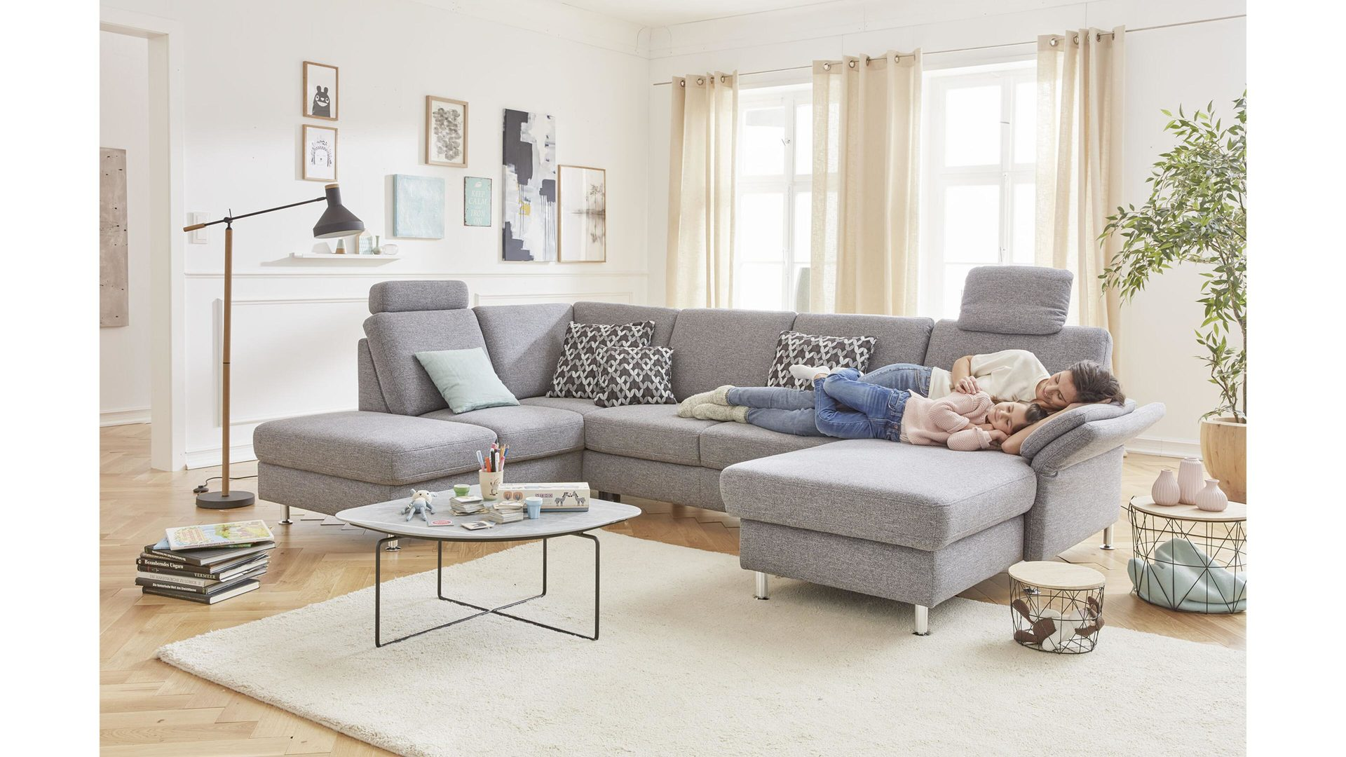 Möbel Boer Coesfeld, Räume, Wohnzimmer, Sofas + Couches, Modulmaster ...