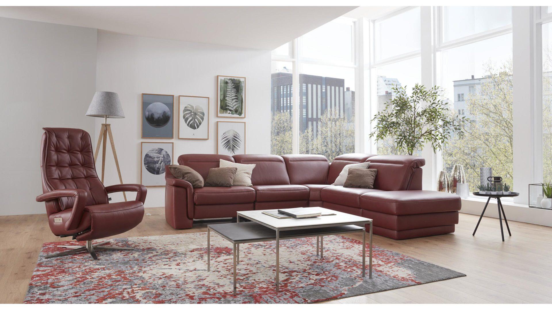 mobel boer coesfeld mobel a z alle mobel a z interliving interliving sofa serie 4052 eckkombination barolofarbenes leder credo schenkelmass ca