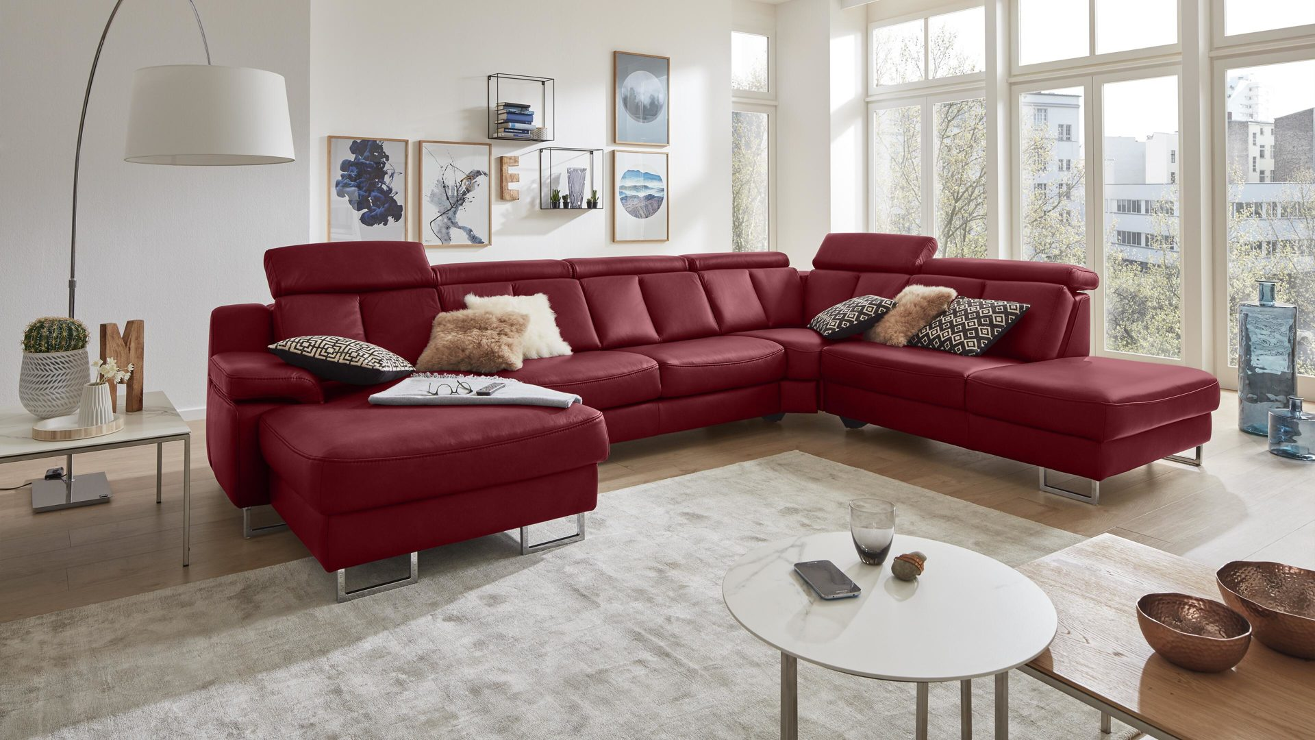 Möbel Boer Coesfeld, Räume, Wohnzimmer, Sofas + Couches, Interliving